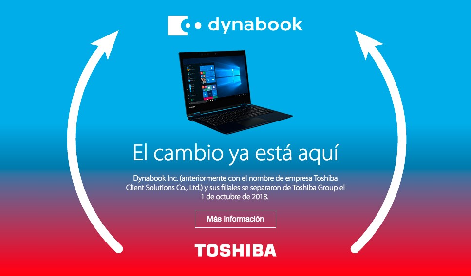 Dynabook -TPVnews - Toshiba - Cambio de Nombre