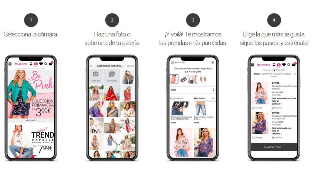 Compra a través de imágenes - TPVnews - Venca - Madrid España