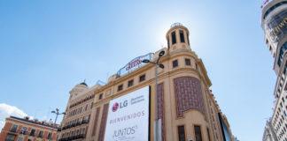 Cartelería digital -LG - Callao City Ligths, TPVnews - Caso de éxito- Madrid España